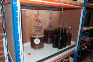 The heated and insulated fermenting enclosure