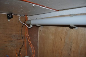Fermentation enclosure with new tubular heater and fan